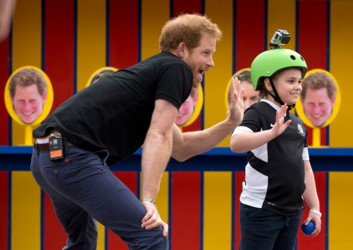prince harry getty images