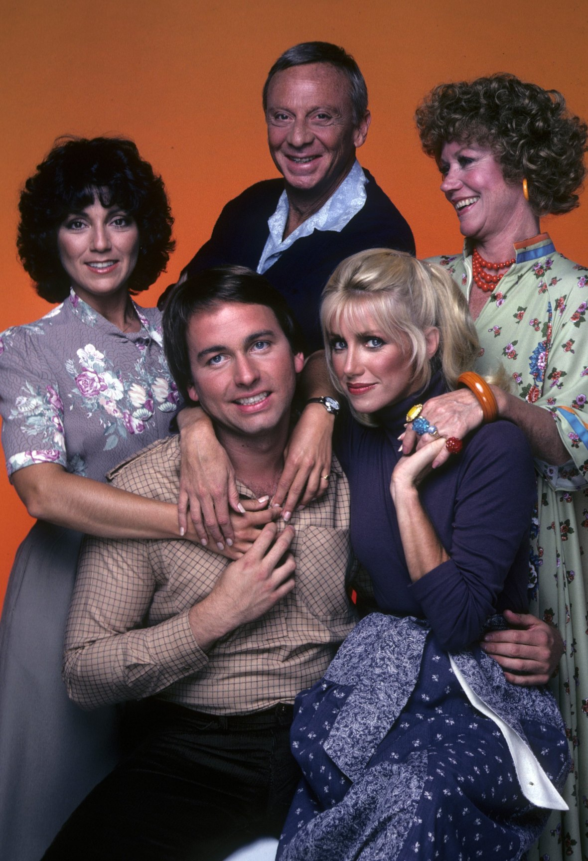 three's company cast getty images