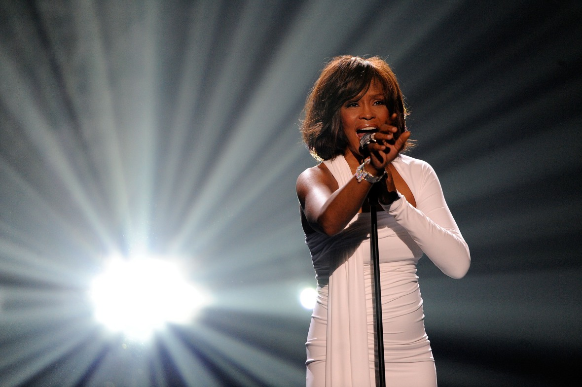 whitney houston getty images