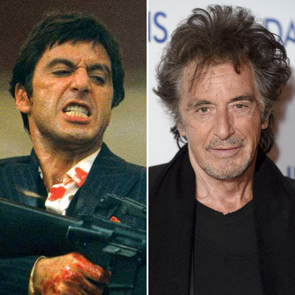 See the cast of 39 scarface 39 then and now closer weekly - Al pacino scarface pics ...