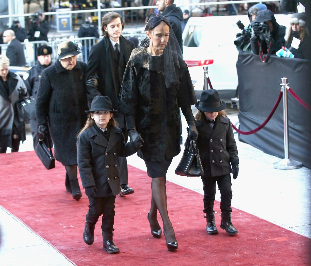 celine dion sons getty images