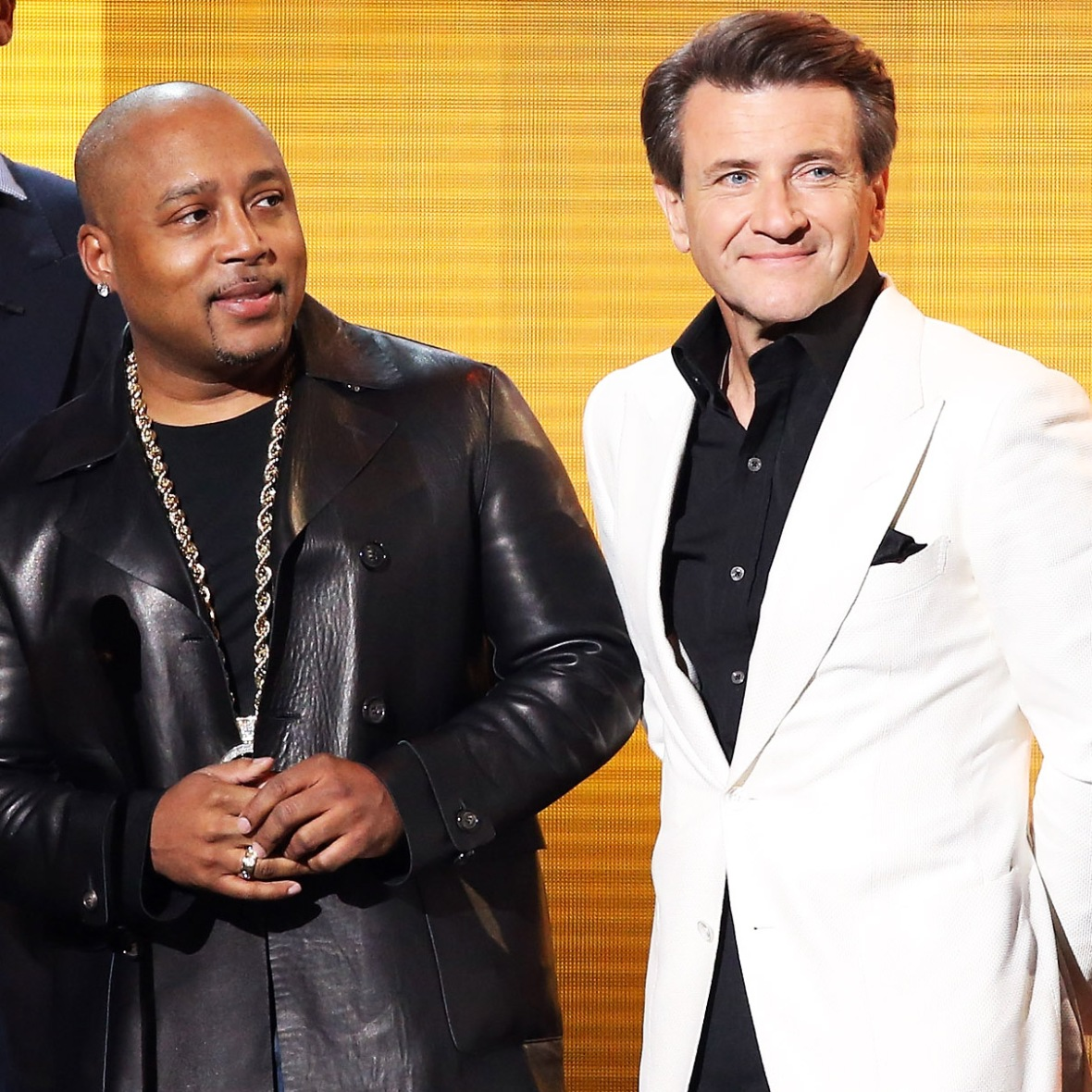 daymond john robert herjavec getty images