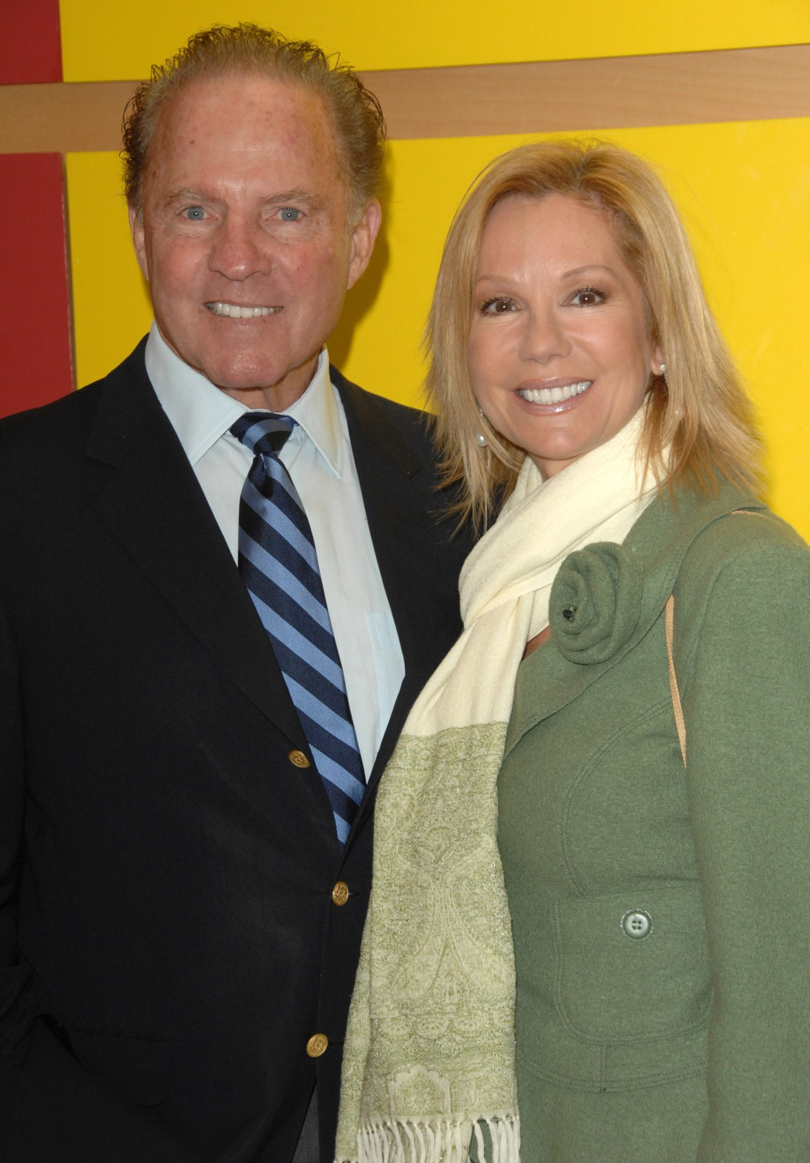 frank gifford kathie lee gifford getty images