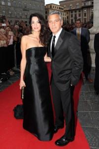 george-amal-black-gown