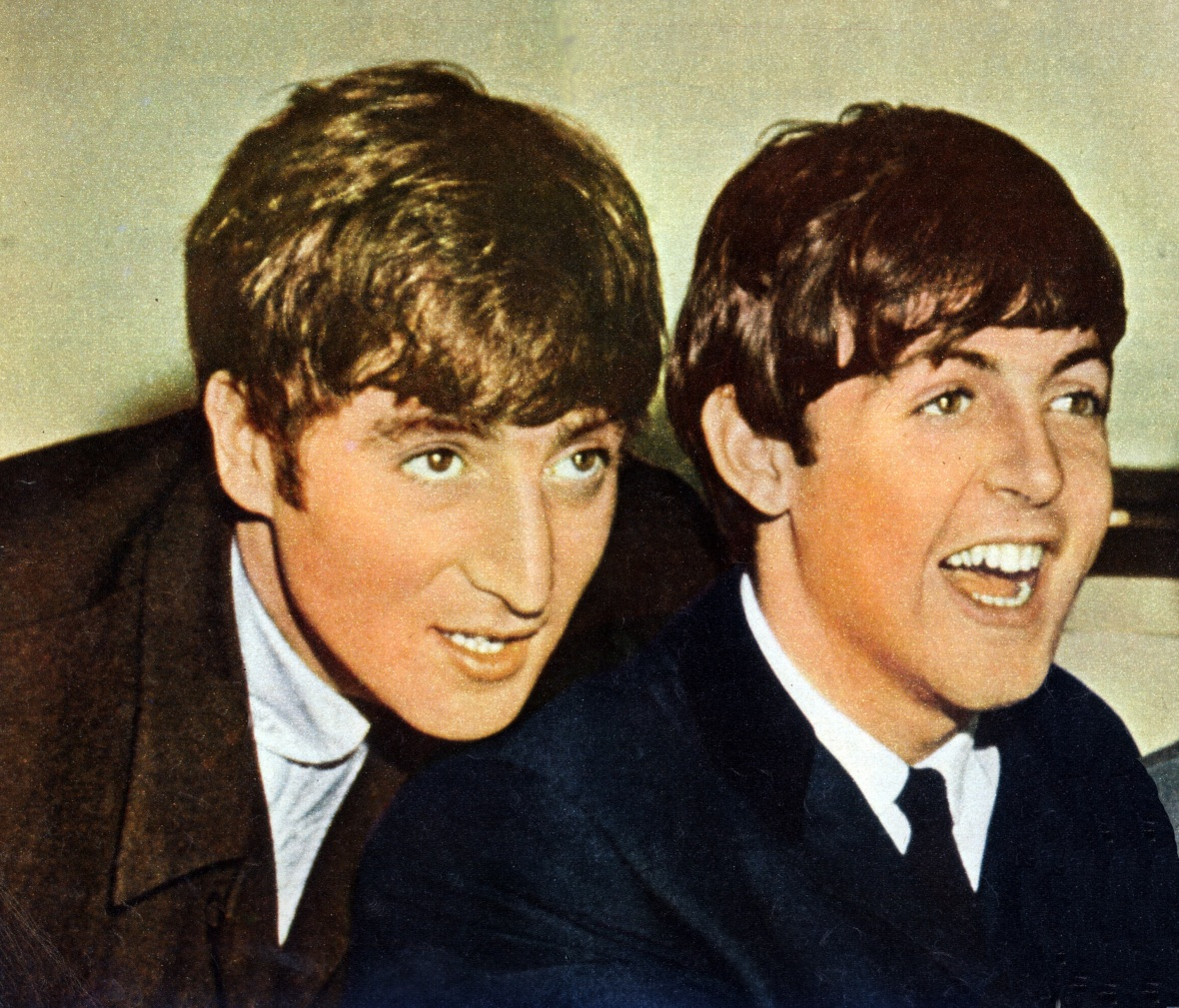 john lennon paul mccartney getty images