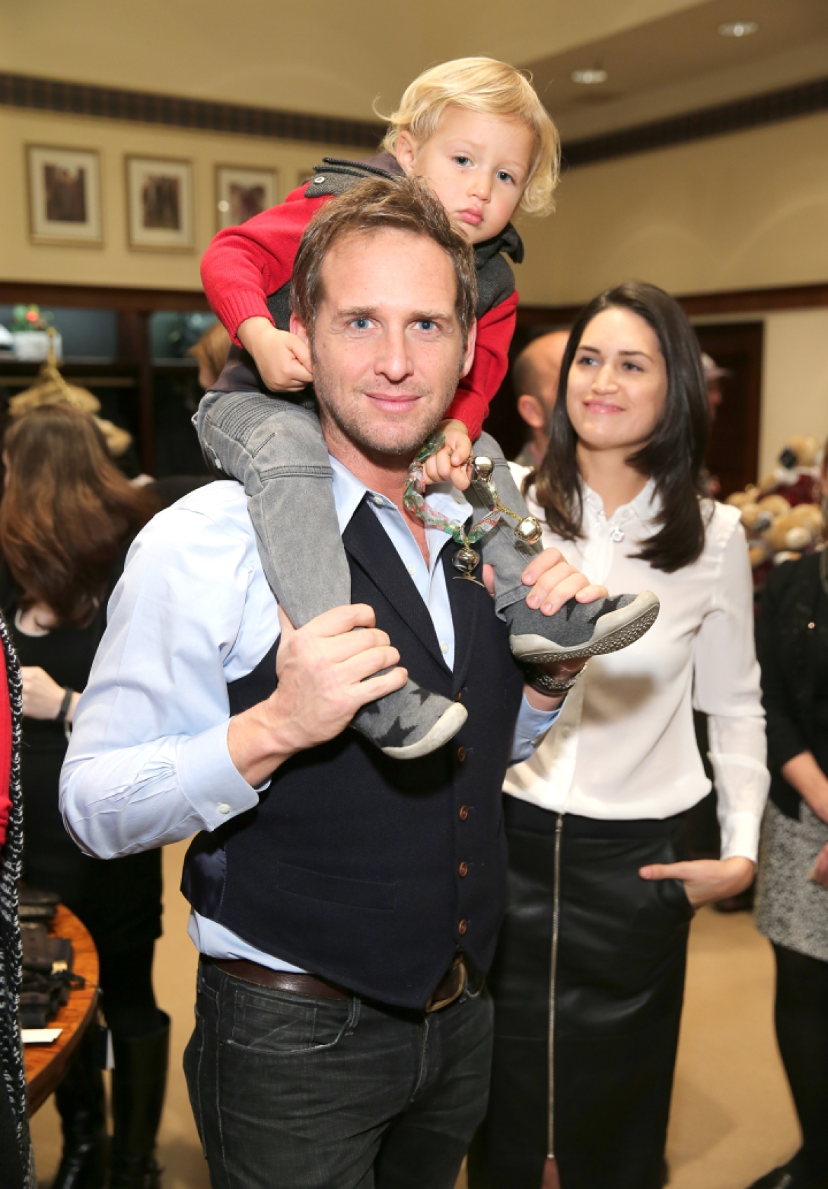 josh lucas jessica ciecin getty images