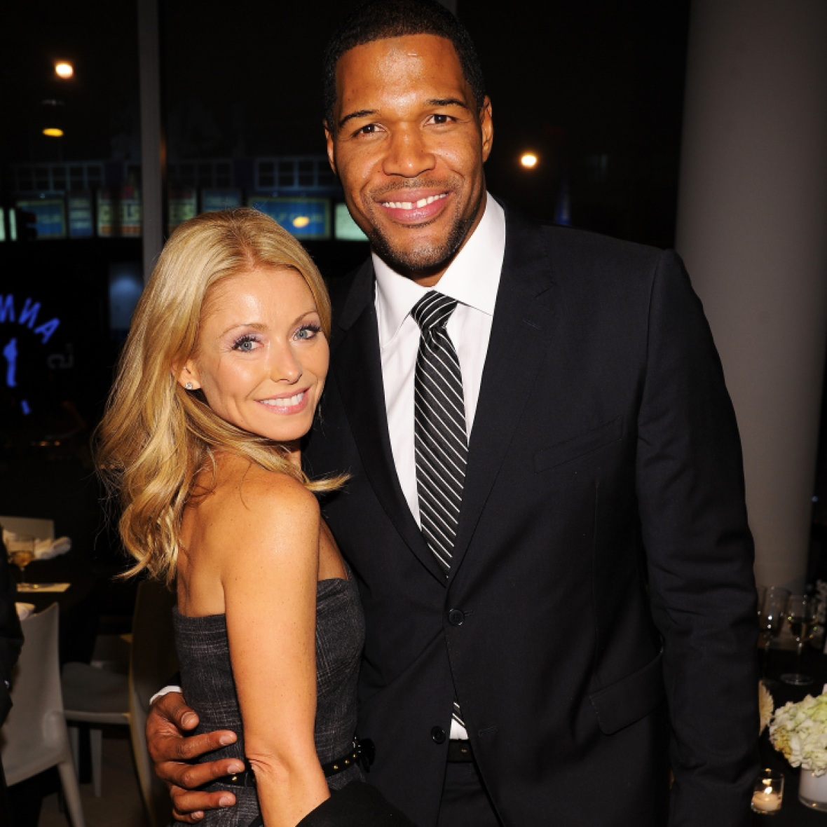 kelly ripa michael strahan getty images