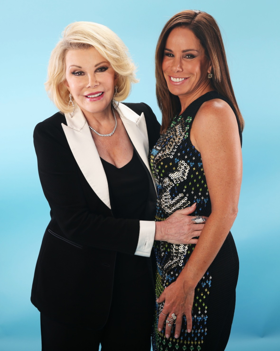melissa rivers joan rivers getty images