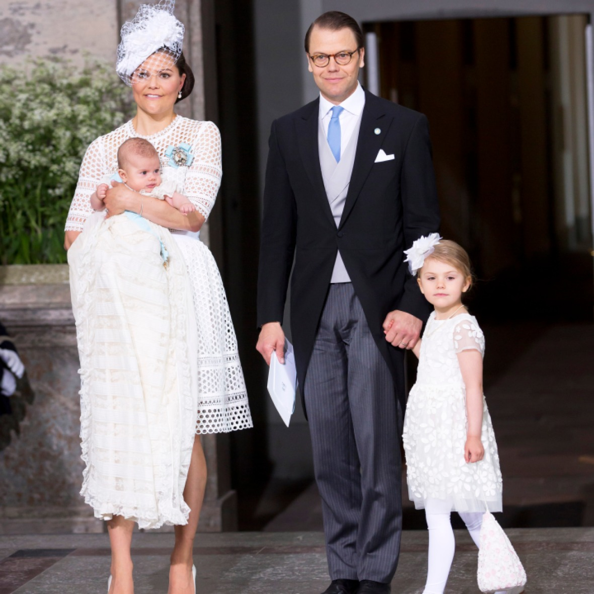 prince oscar christening getty images