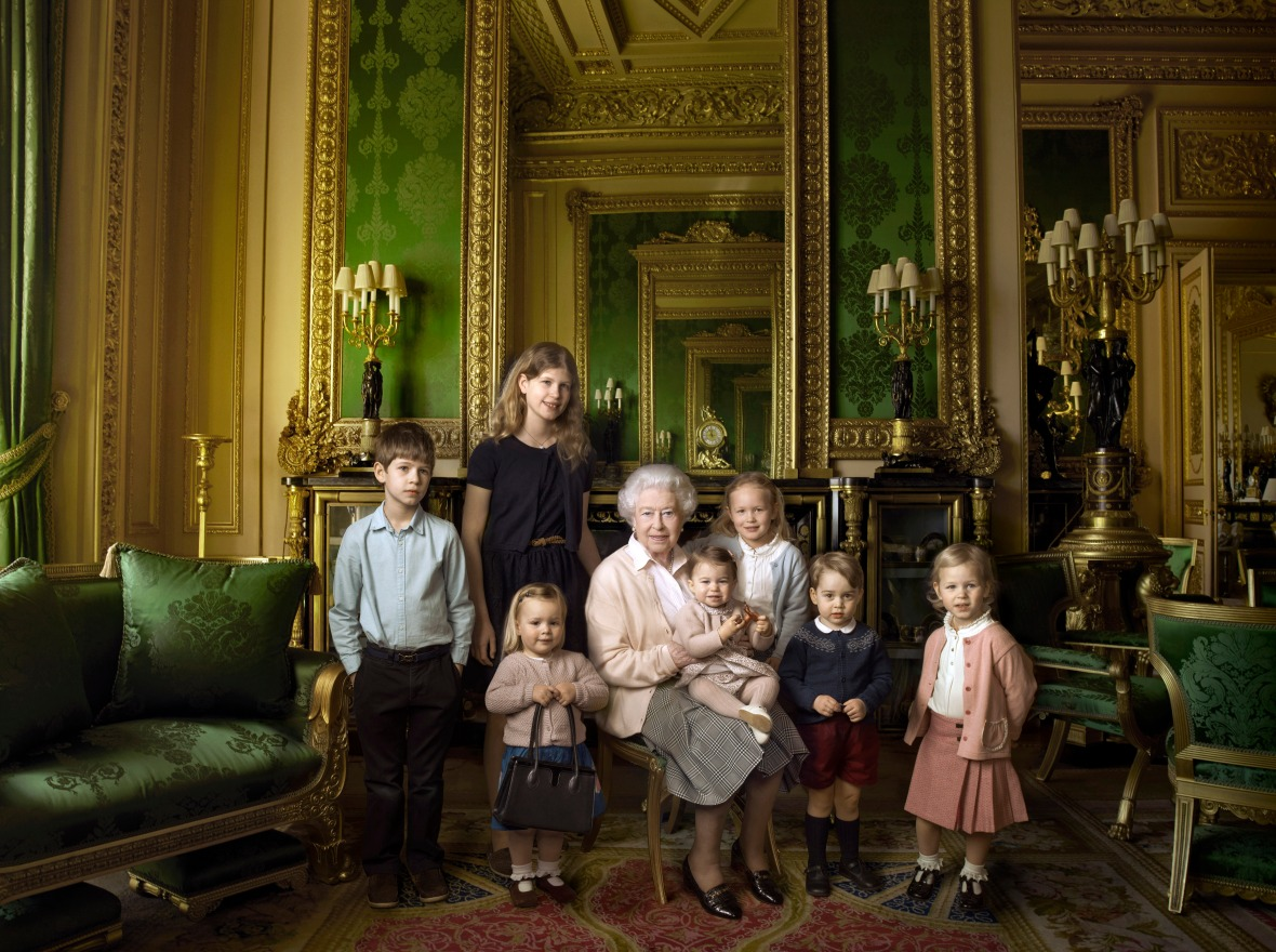 queen elizabeth royal family getty images