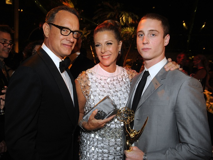 tom hanks rita wilson chet hanks