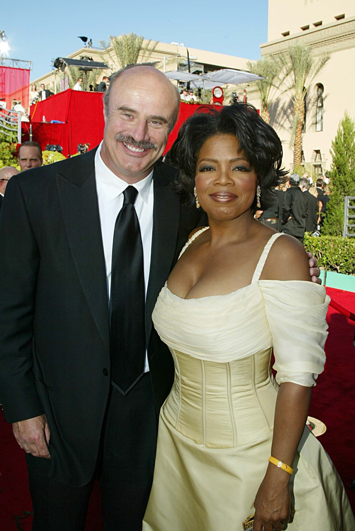 dr. phil oprah getty images