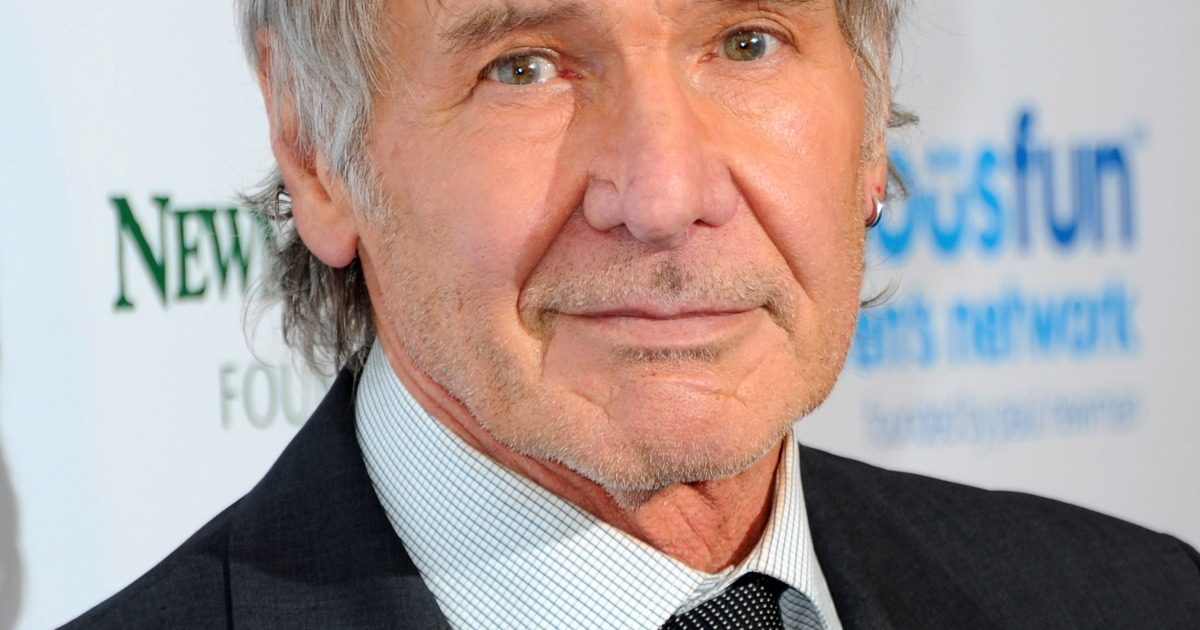 Harrison Ford Looks Unrecognizable With a Bushy New Beard