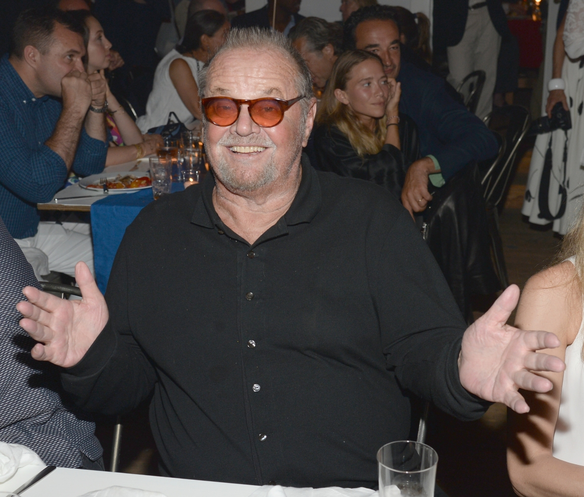 jack nicholson getty images