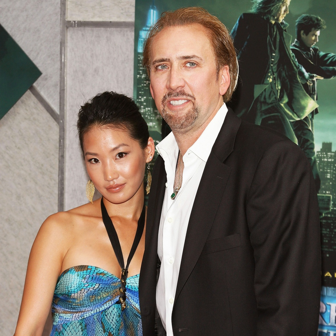 nicolas cage wife getty images