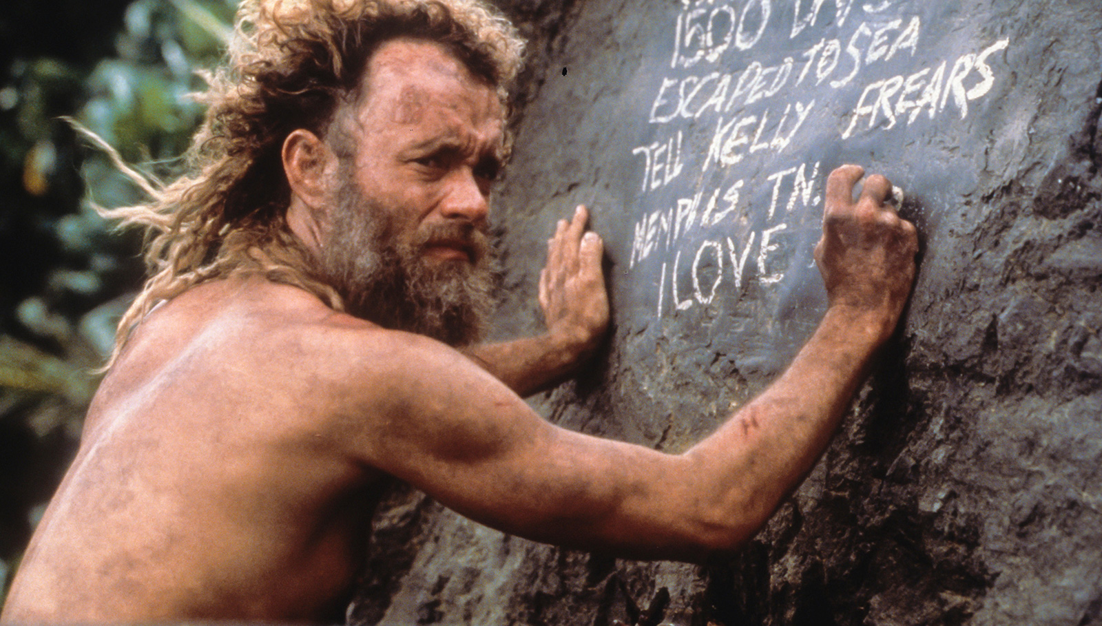 How long was tom hanks cast away