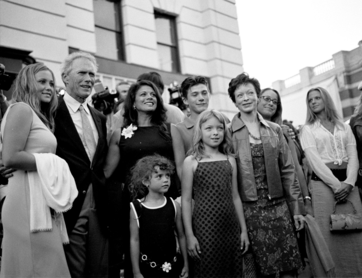 clint eastwood family getty images