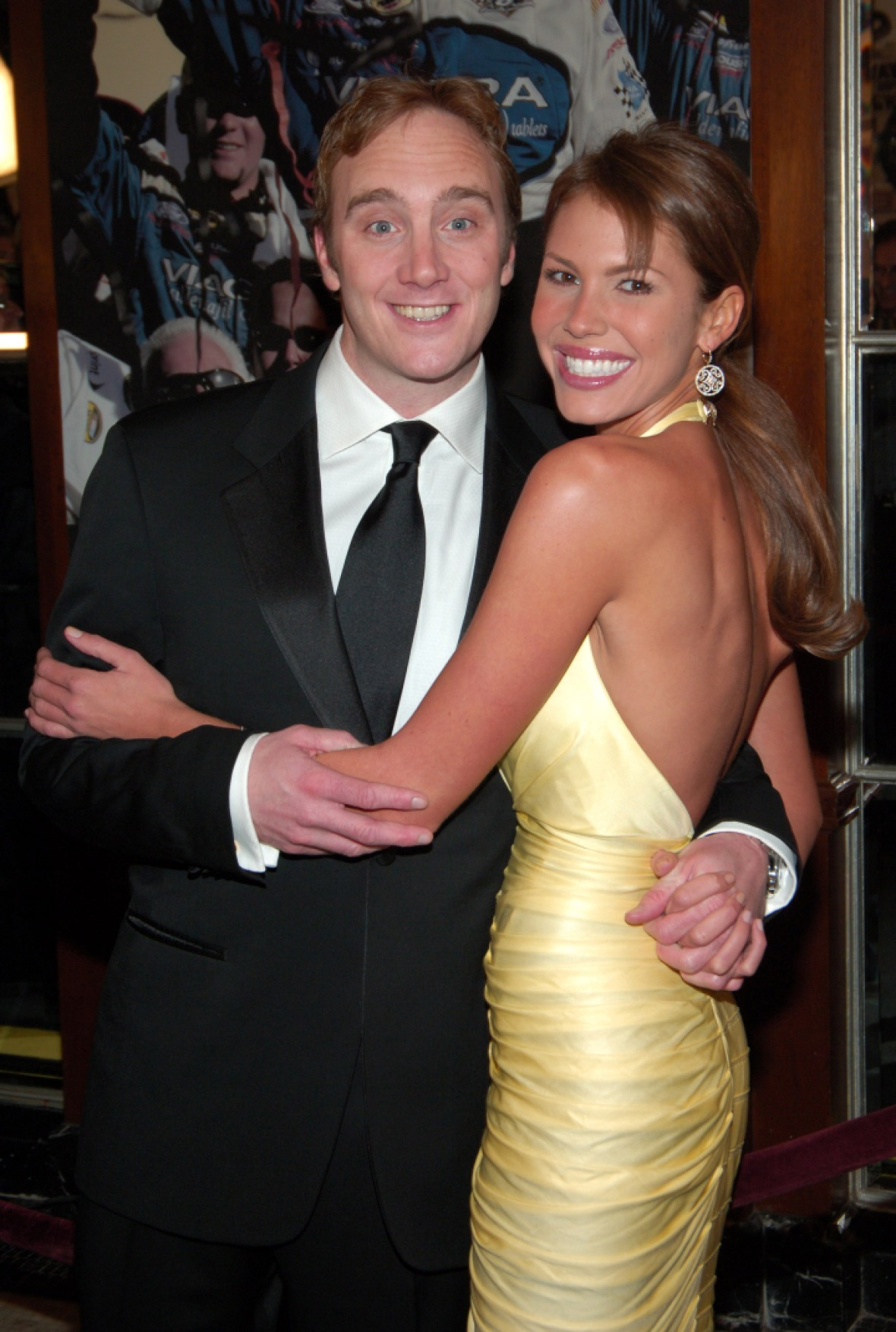 jay mohr nikki cox getty images