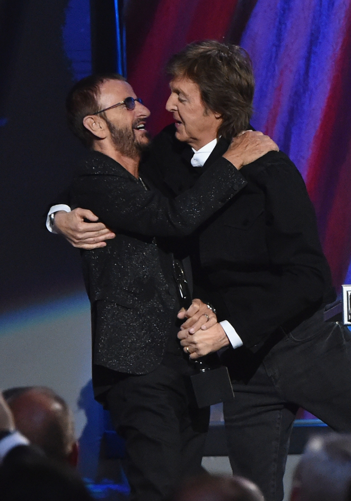 ringo starr paul mccartney getty images