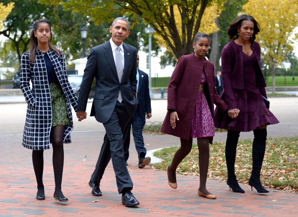 the-obama-family