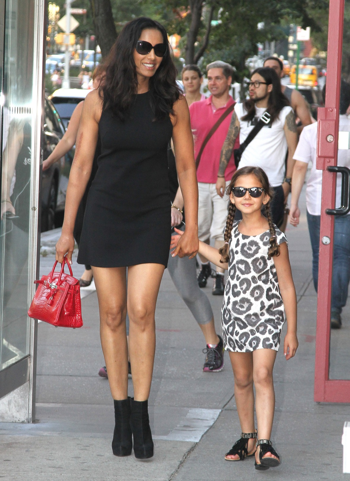 padma lakshmi daughter krishna splash