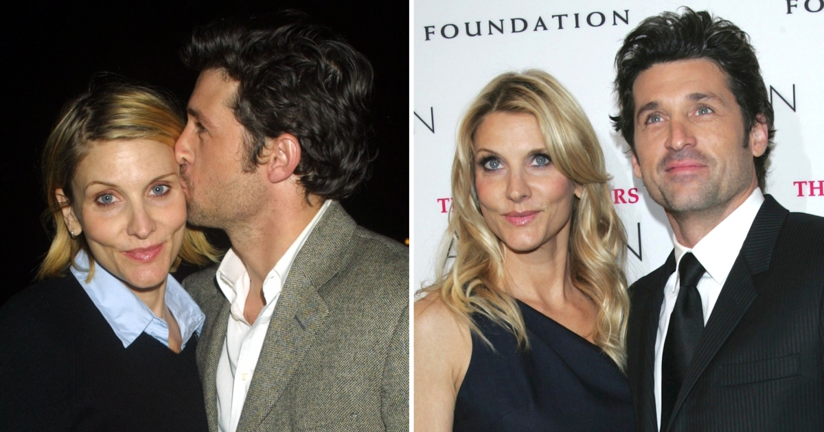 Patrick Dempsey And Wife Jillian Fink S Cutest Photos Then And Now Her the best movies are ava's magical adventure and the rainbow. patrick dempsey and wife jillian fink s