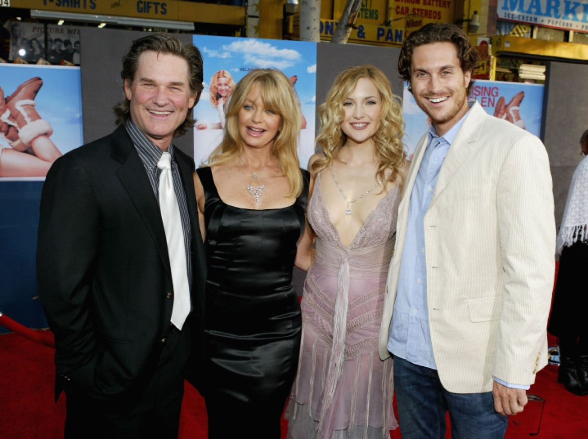 goldie hawn kurt russell kate hudson getty images