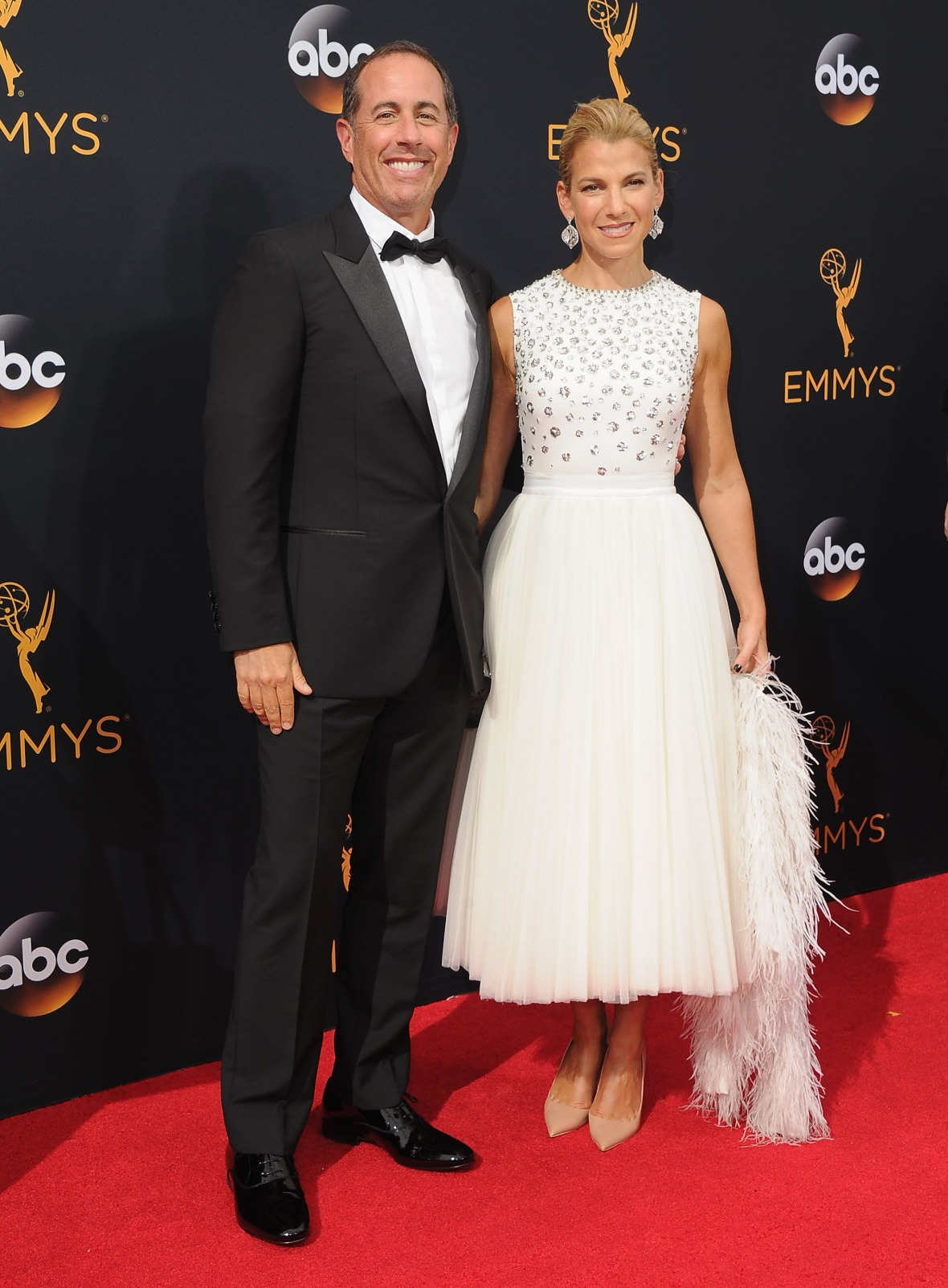 jerry seinfeld jessica seinfeld getty images