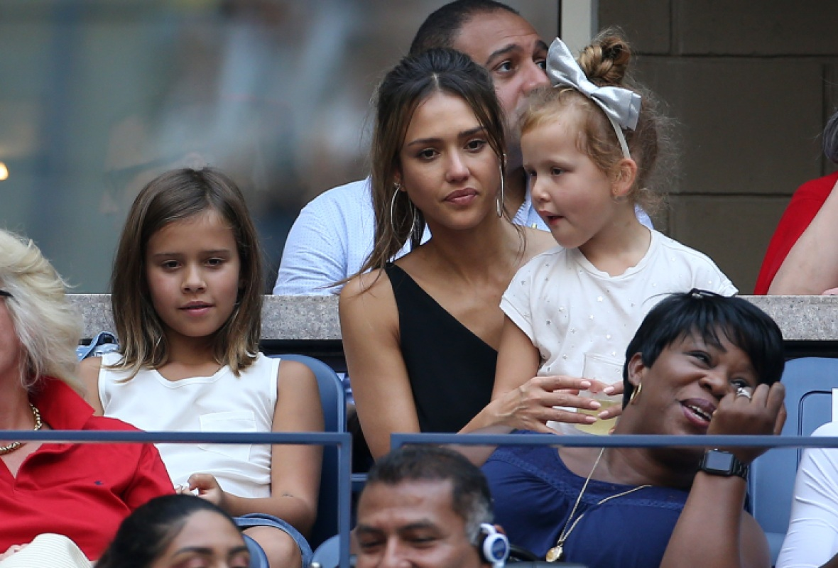 jessica alba daughters honor haven getty images
