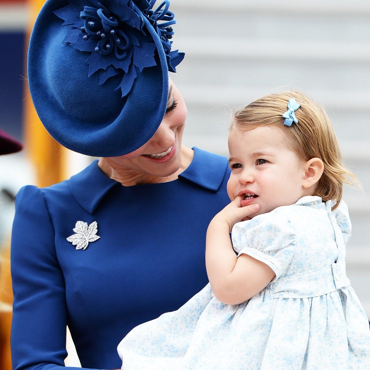 kate middleton princess charlotte getty images