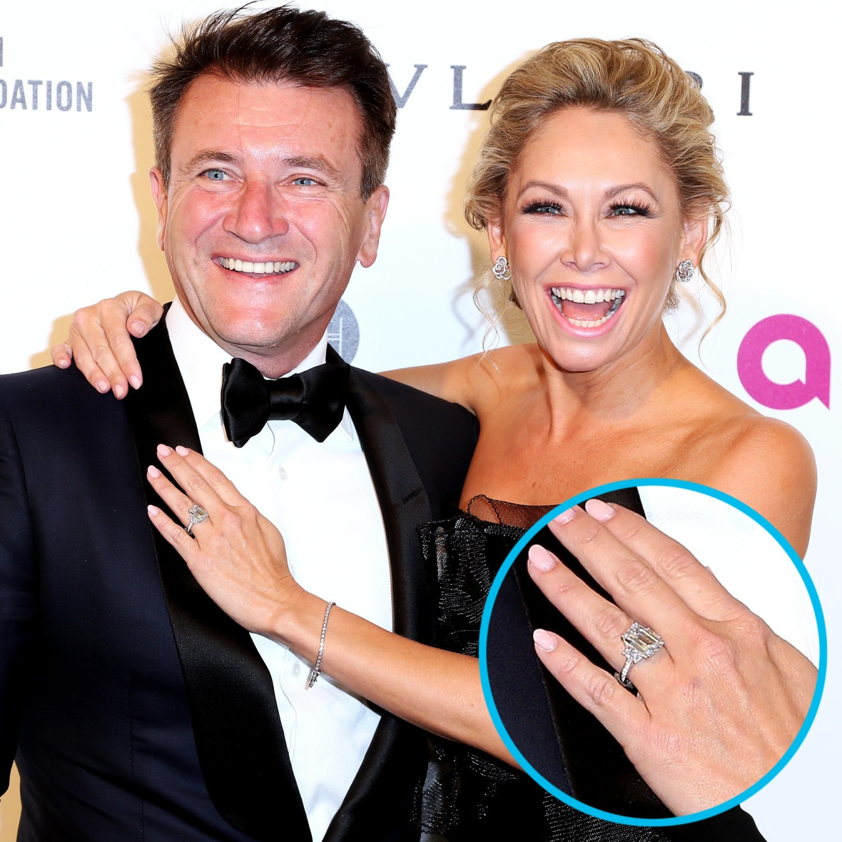 kym johnson robert herjavec getty images