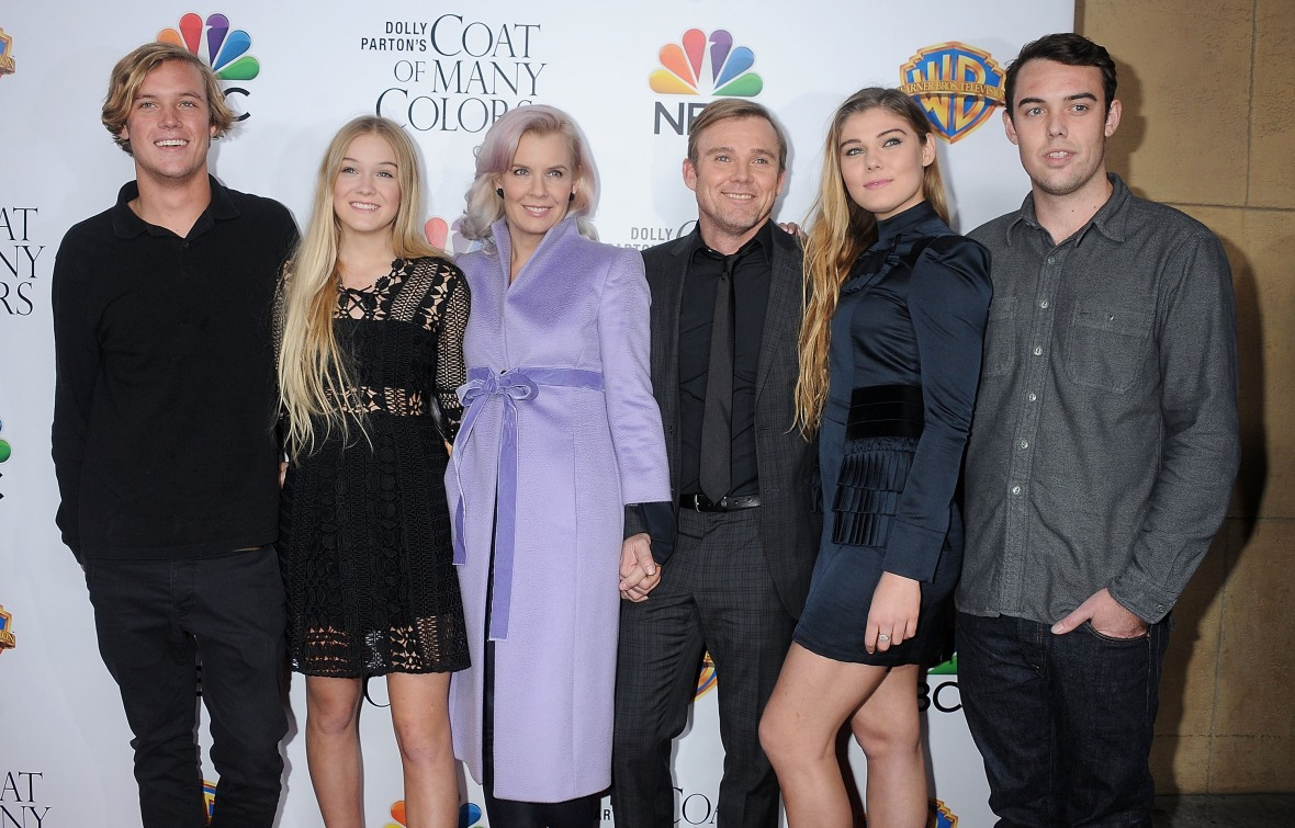 ricky schroder family getty images