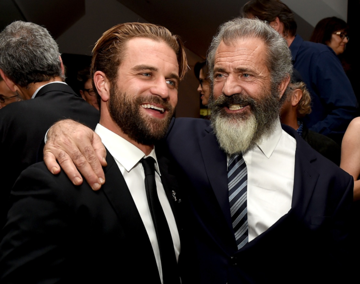 mel gibson milo gibson getty images