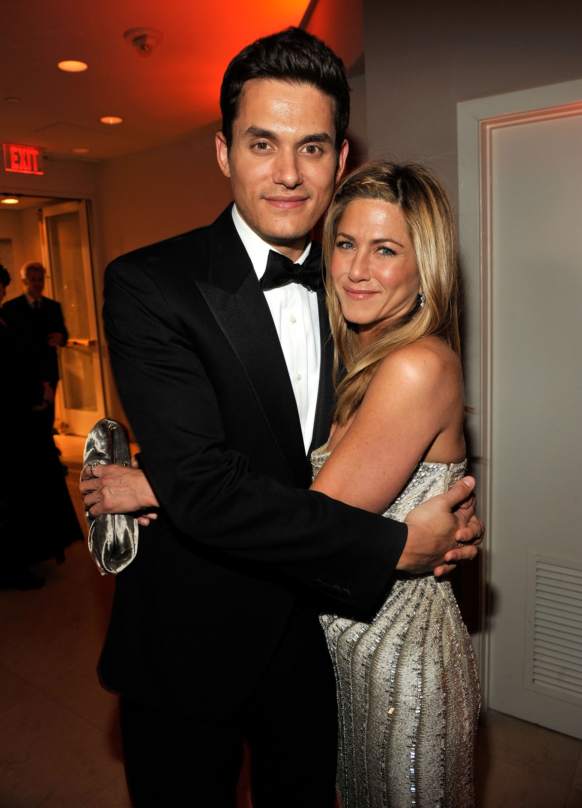 jennifer aniston john mayer getty images