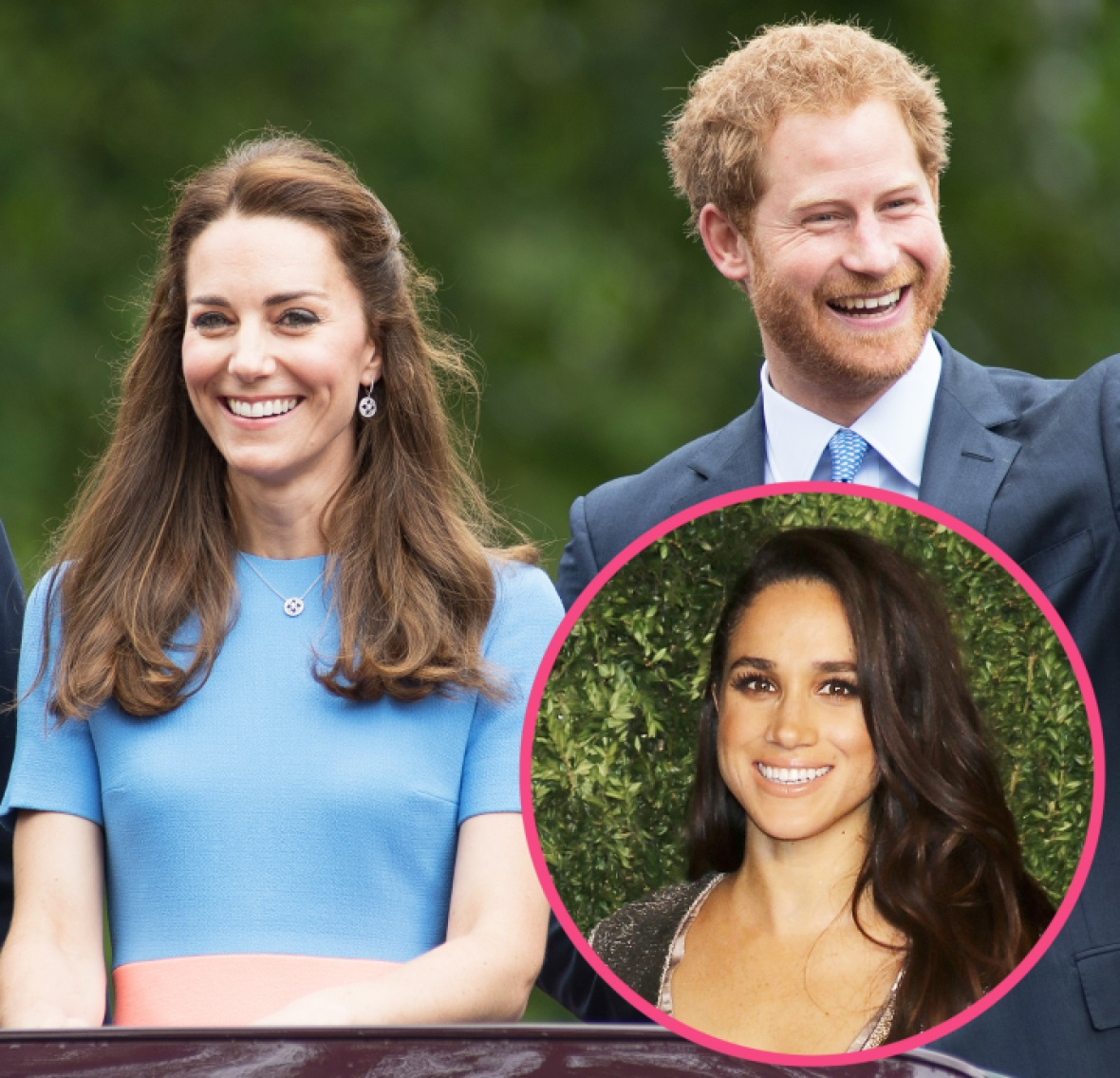 prince harry meghan markle kate middleton getty images