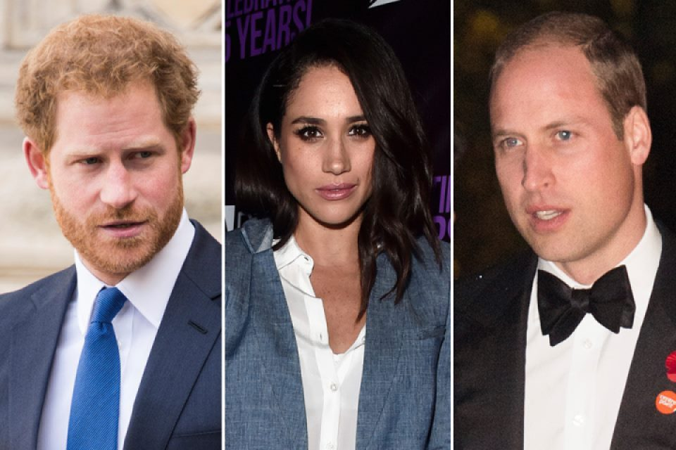 prince harry prince william meghan markle getty images