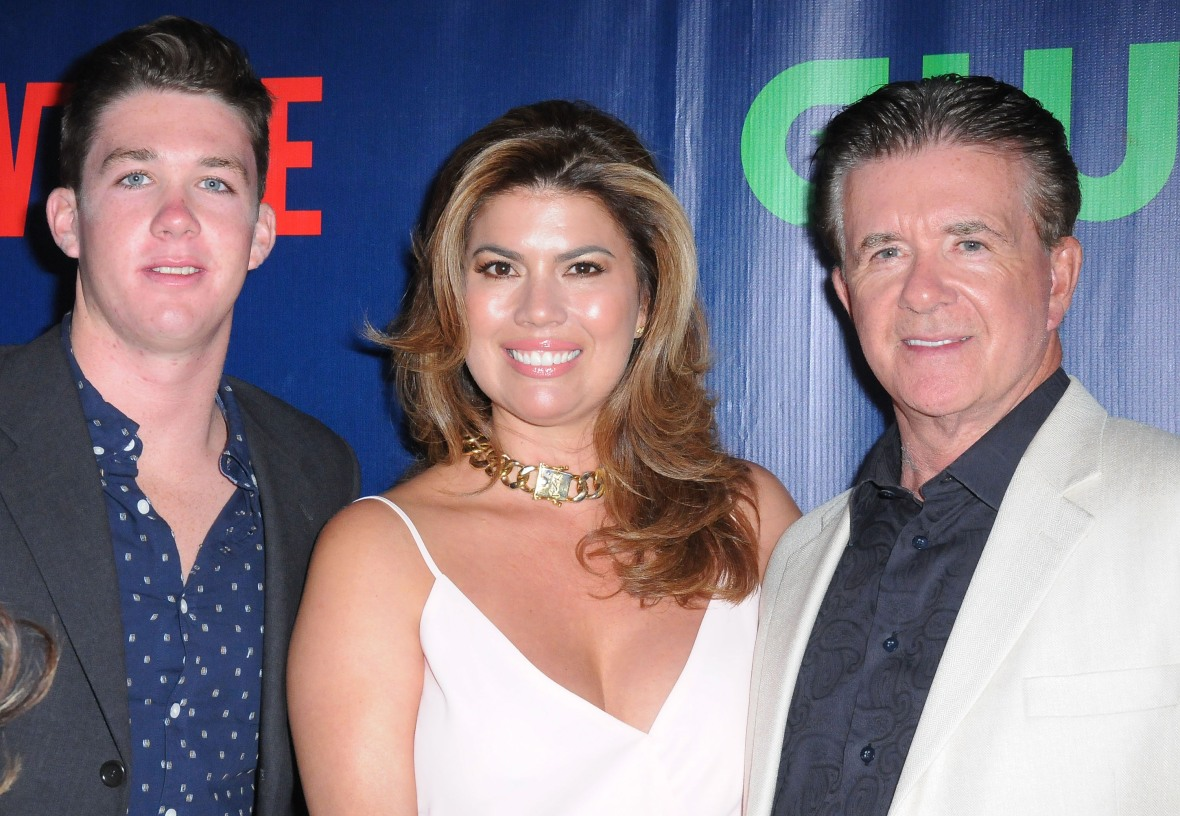 alan thicke carter thicke getty images