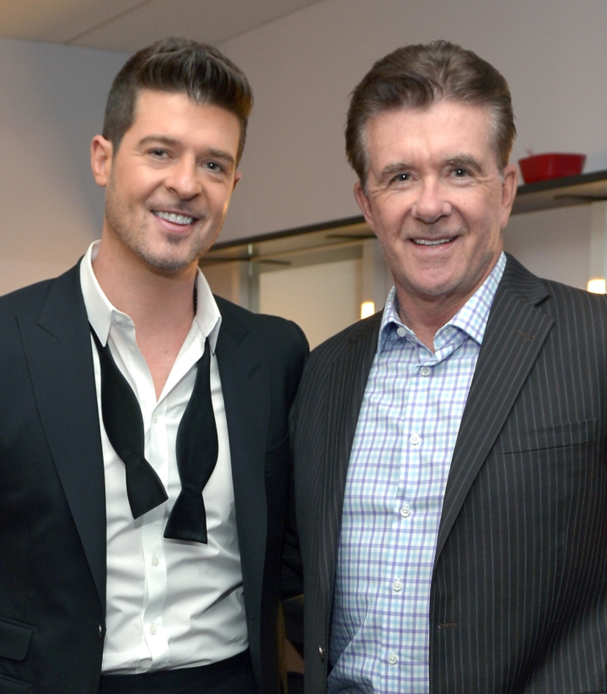 alan thicke robin thicke getty images