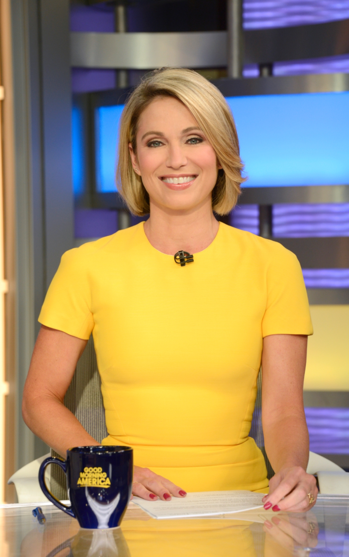 amy robach getty images