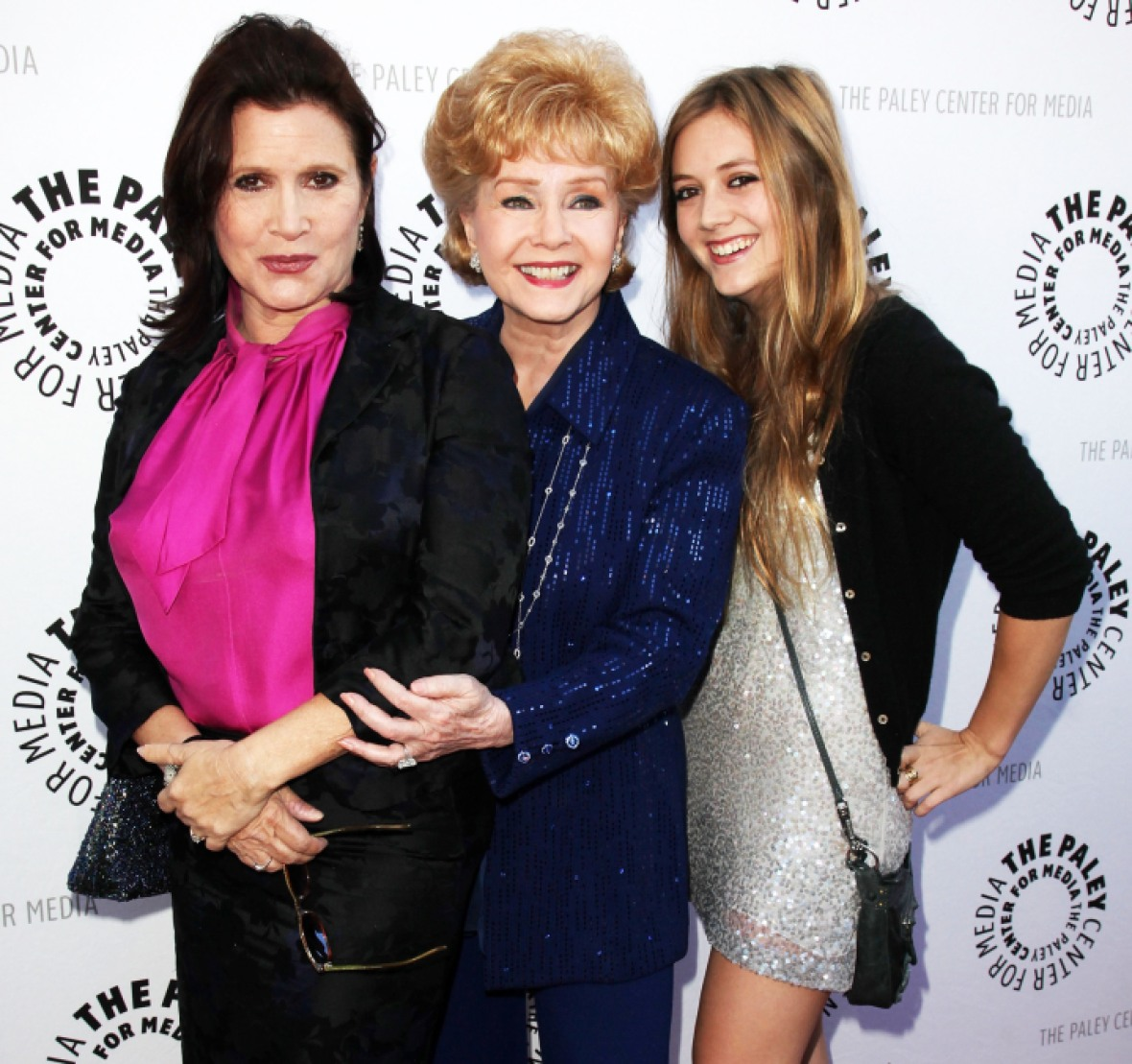 carrie fisher family getty images