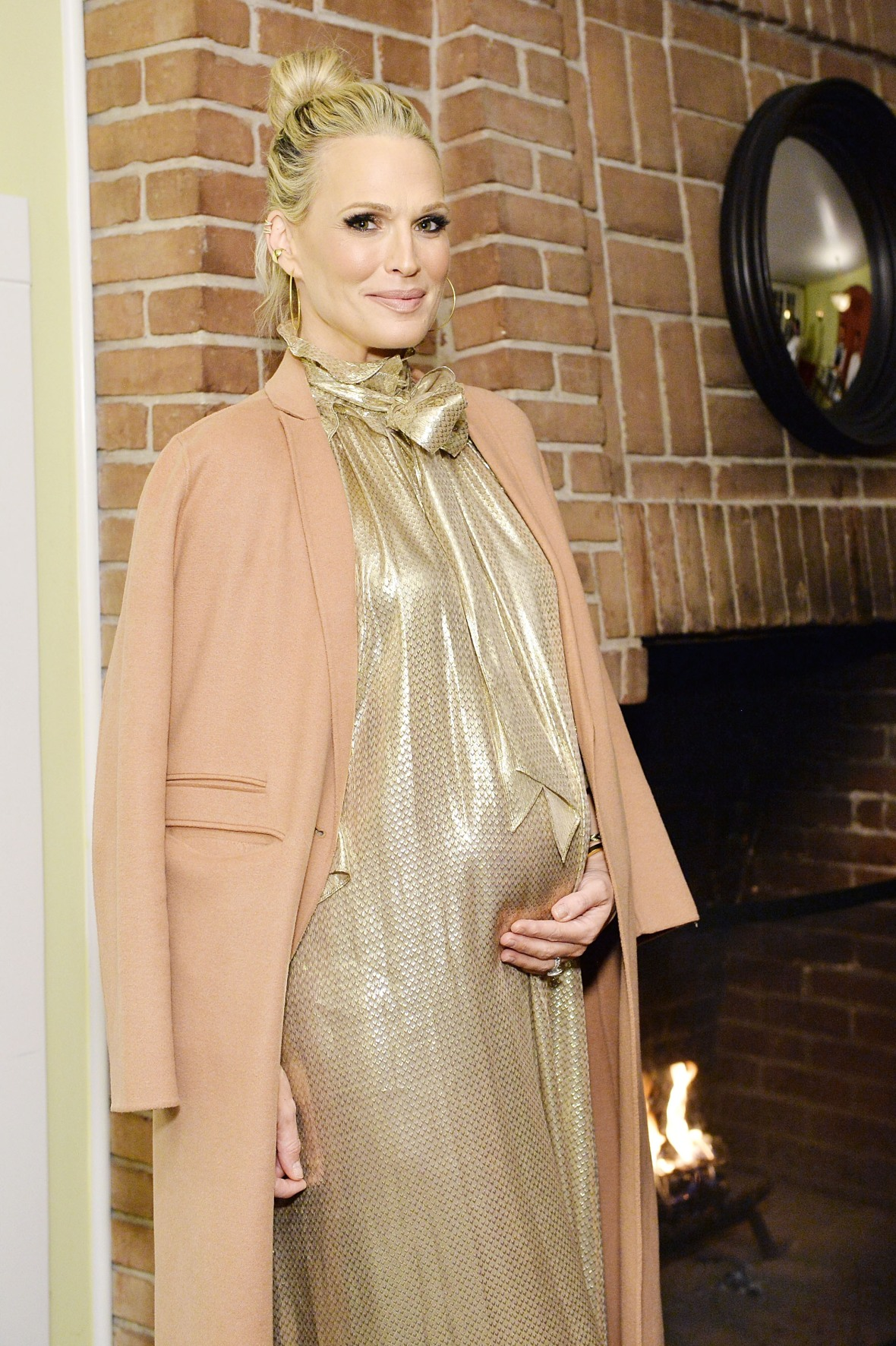 molly sims getty images