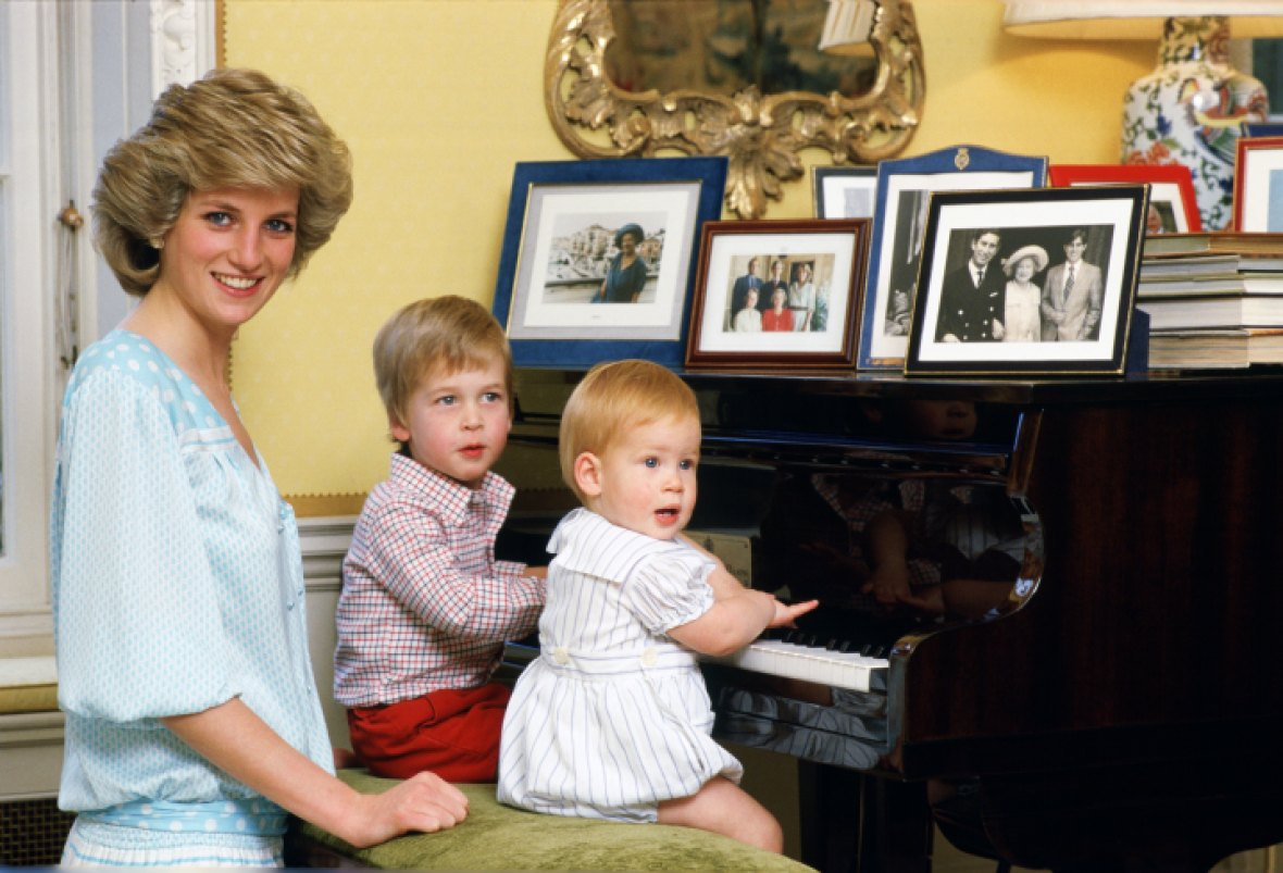 princess diana sons