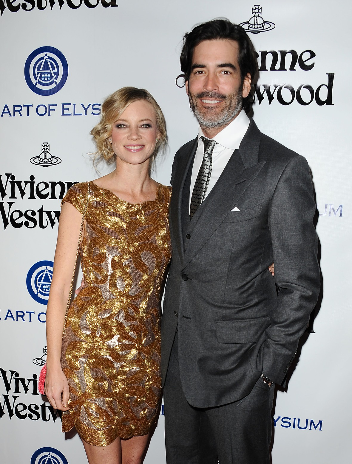 amy smart carter oosterhouse getty images