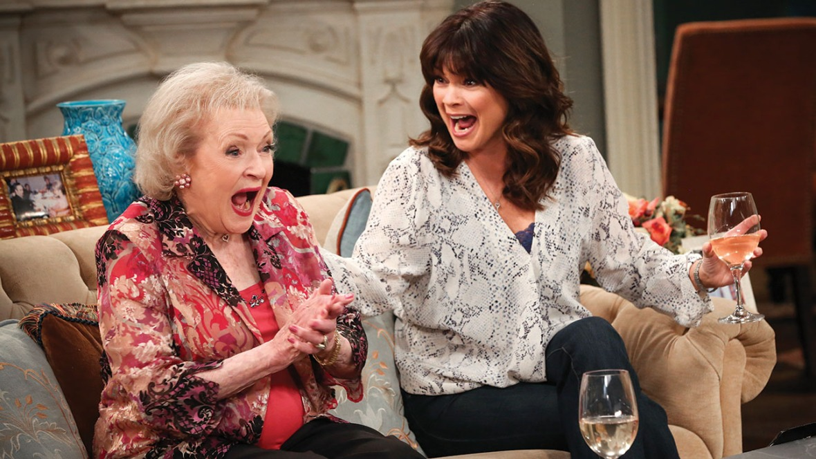 betty white, hot in cleveland