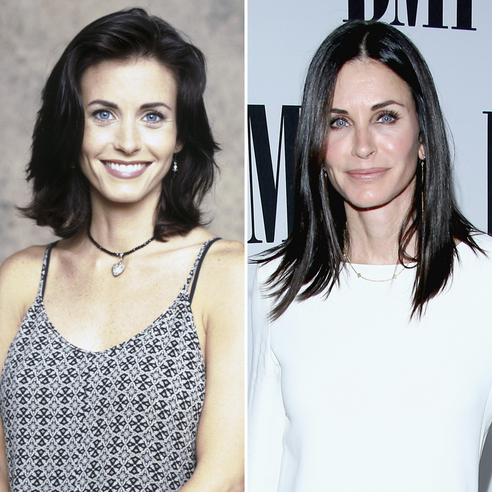 courteney cox plastic surgery getty images