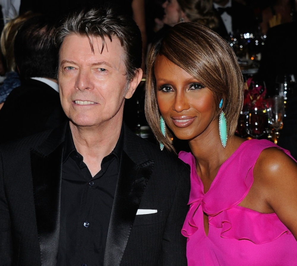 david bowie iman getty images
