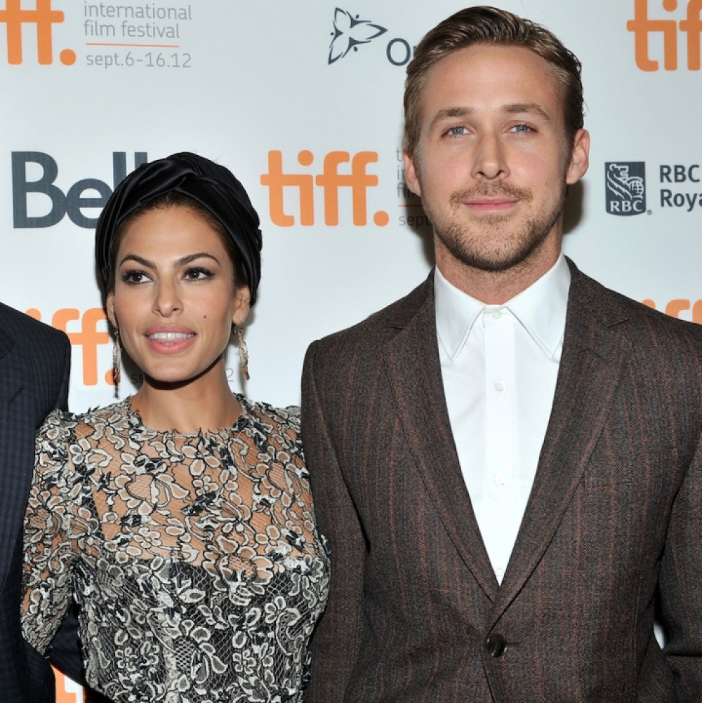 eva mendes ryan gosling getty images