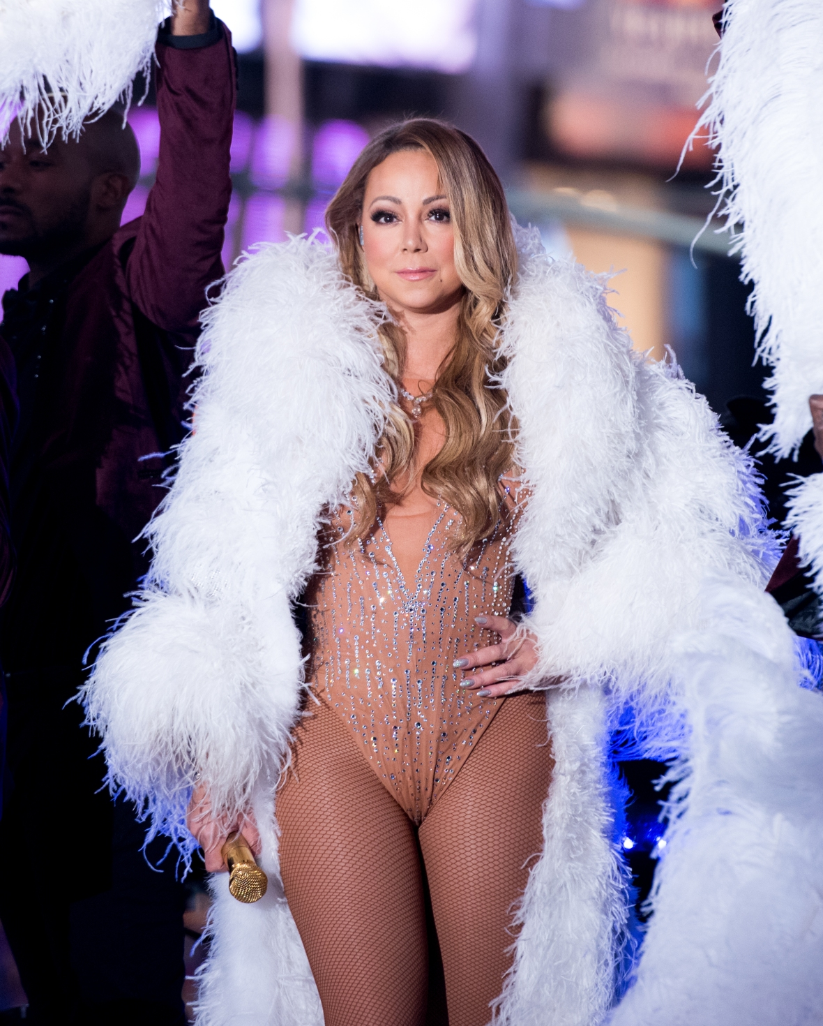 mariah carey new year's eve getty