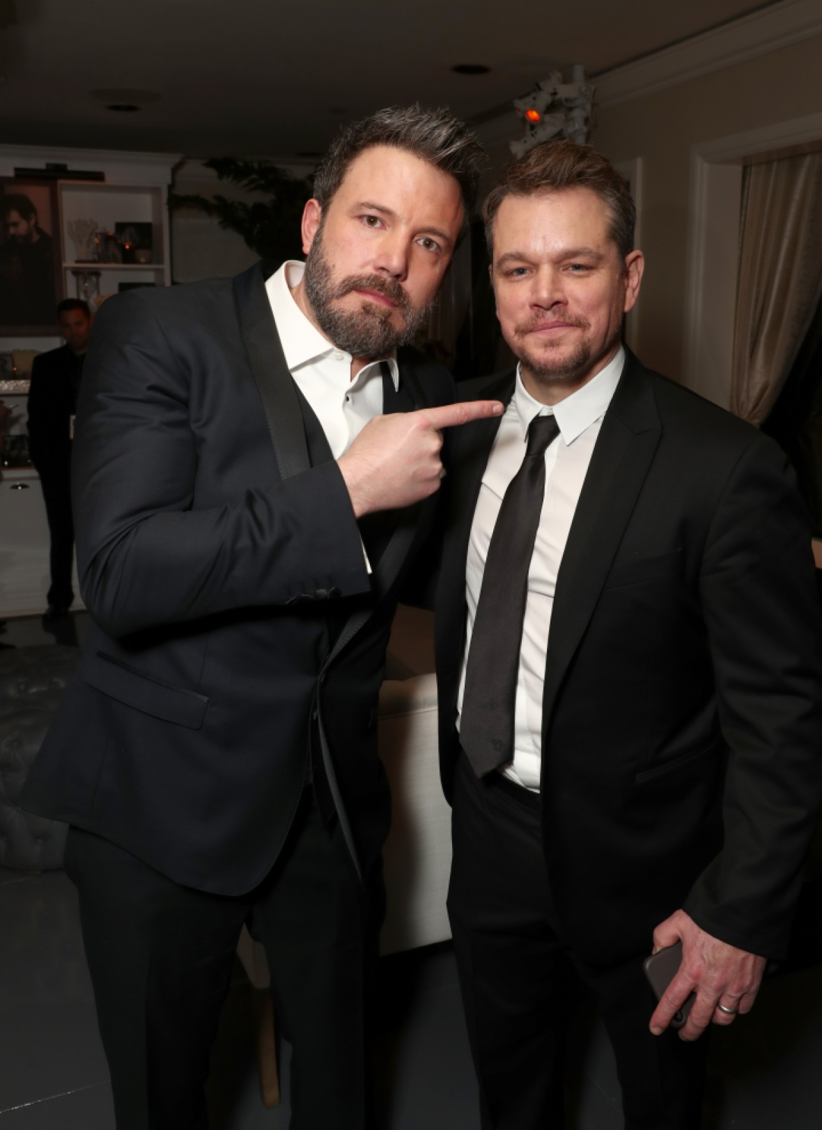 ben affleck matt damon getty images