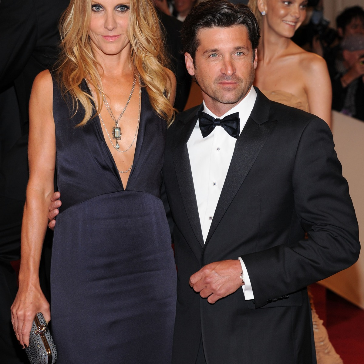 Patrick Dempsey Hits The Red Carpet With Formerly Estranged Wife